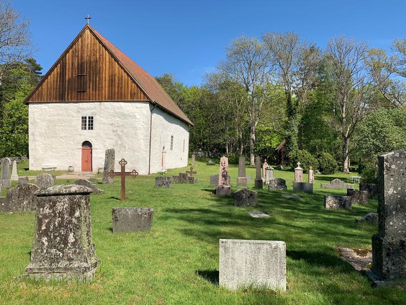 Vandring på kirkegården