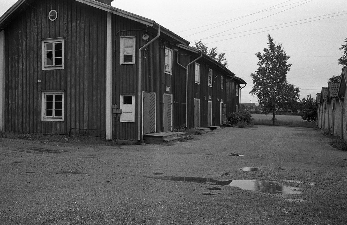 """Arbetarbostäder, """"Lerkåken"""", vid """"Meken"""", Arboga Mekansika Verkstad."""
