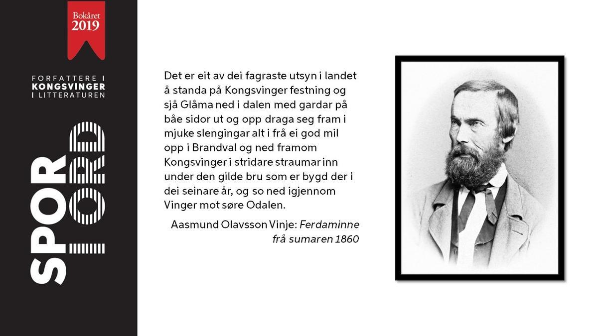 SPOR I ORD - Aasmund Olavsson Vinje