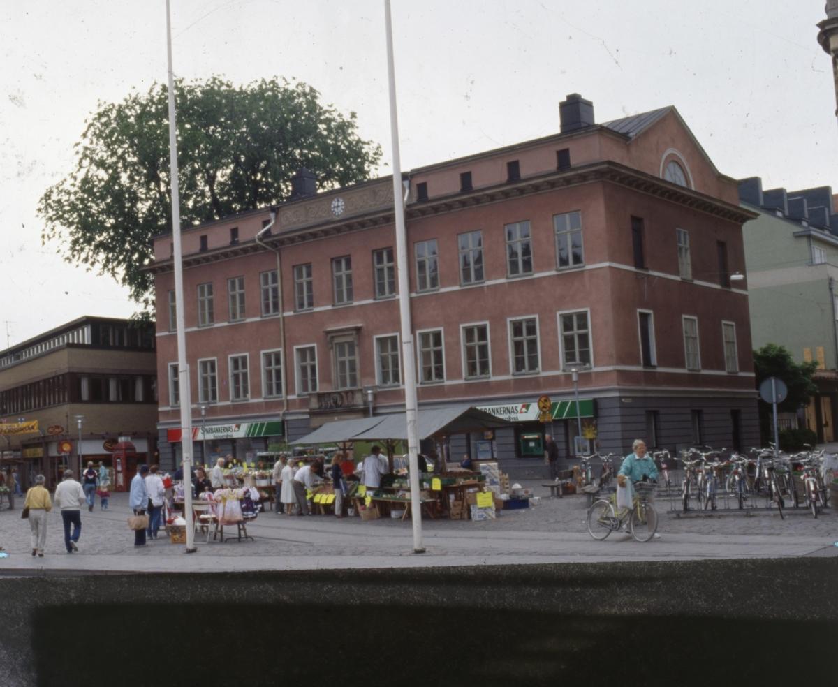Torghandel på Stora Torget.