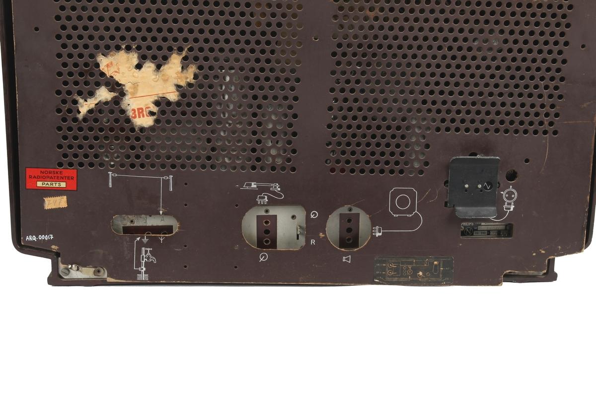 Radioapparat fra RCA.