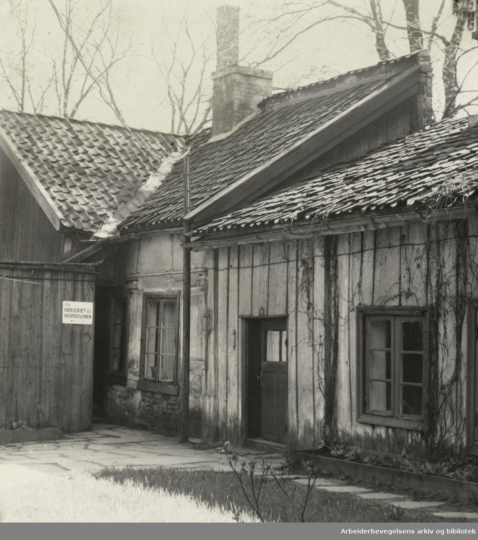 Lakkegata. Mai 1950