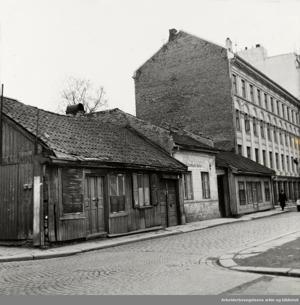 Lakkegata. 1955