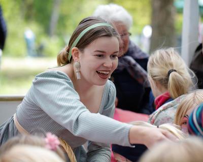 Helene Herskapsfrøken, familietilbud for barn på Bogstad Gård. Foto/Photo