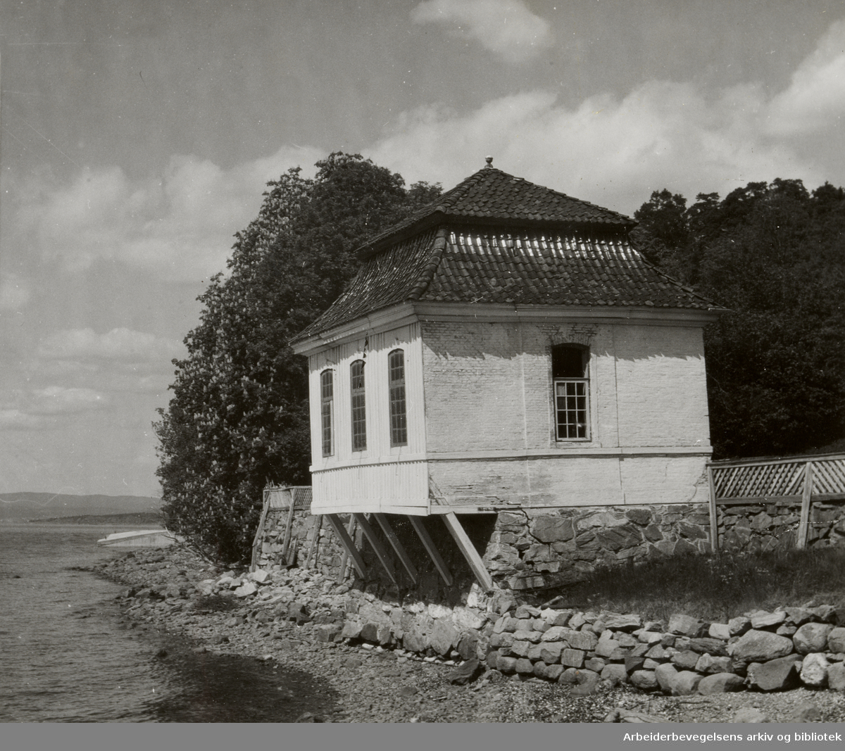 Ljankollen. Juni 1947