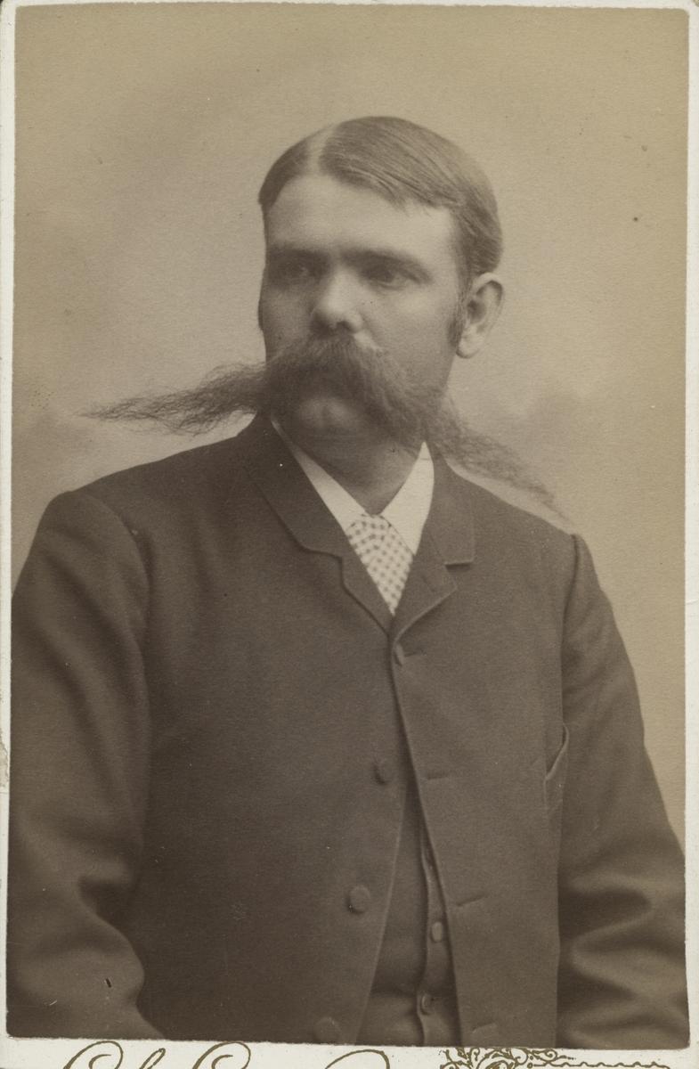 Bankkamrer Joel Wedblad.