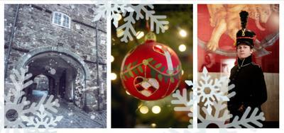 Jul på Fredriksten Museum. Foto: Stein Johnsen, Brink Nordic, Marta Anna Løvberg