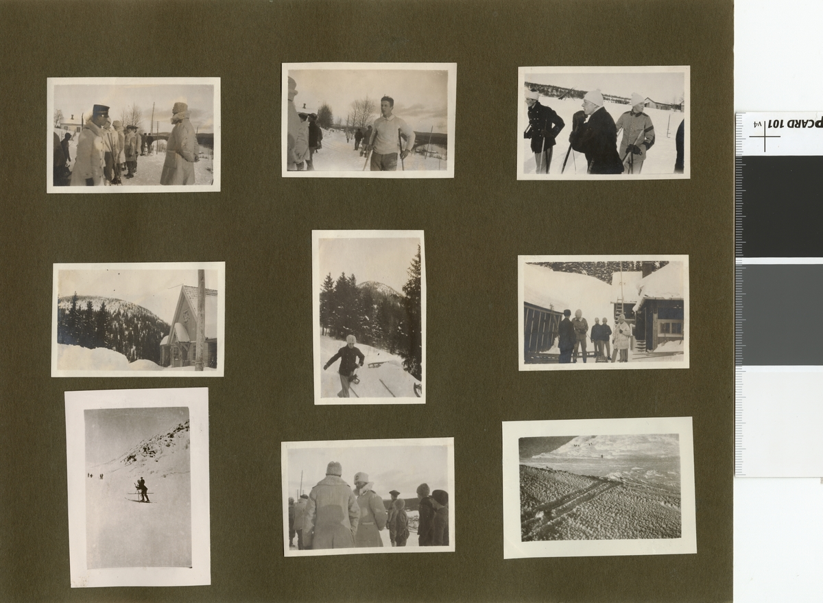 Vinterövning för elever på Krigsskolan Karlberg, troligen i Åre.