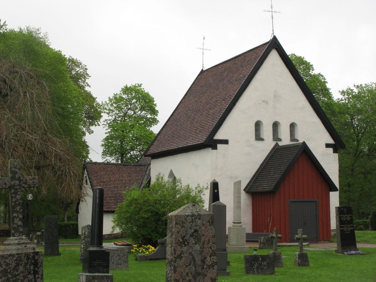 Exteriör, Norra Solberga gamla kyrka i Nässjö kommun