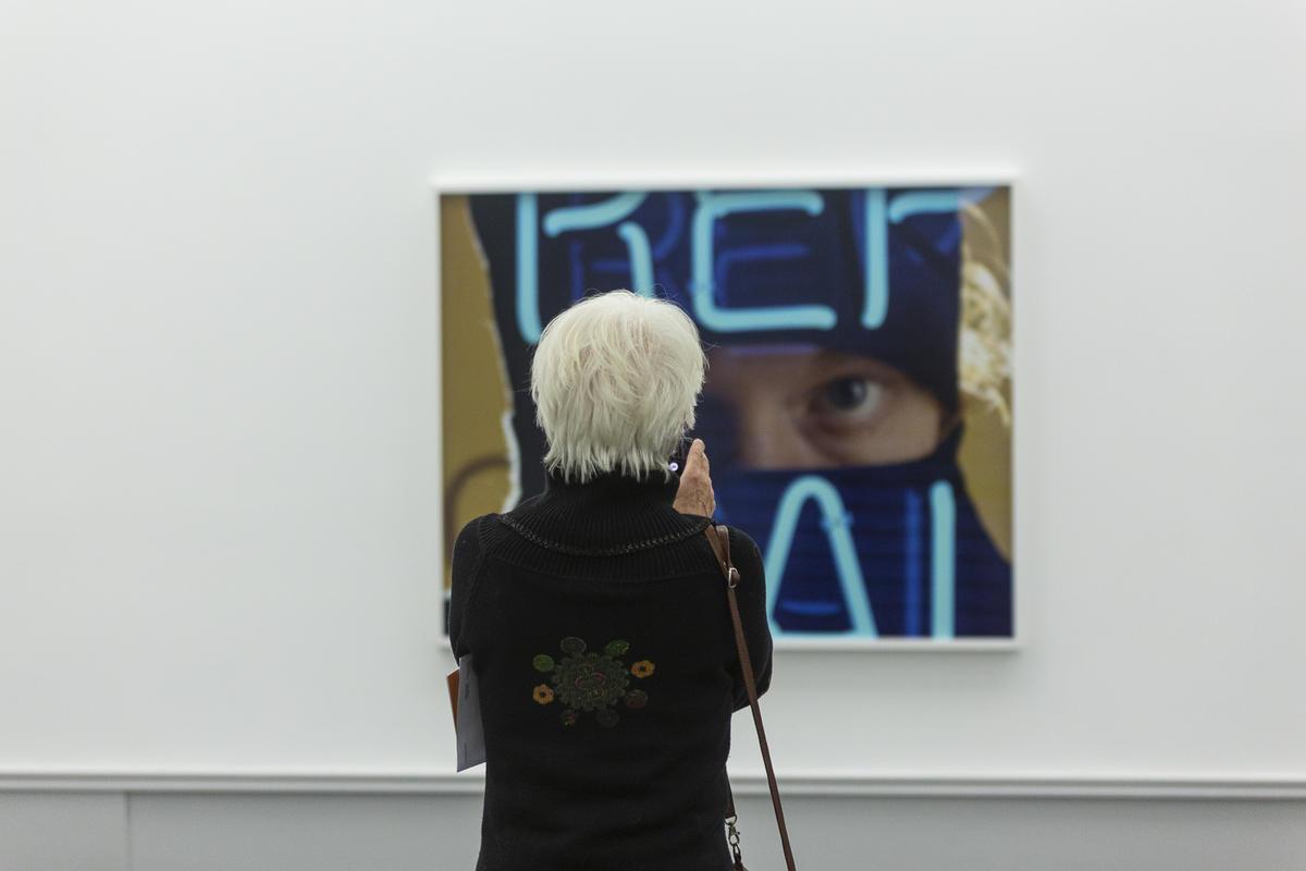 Lorck Schive Kunstpris 2019 / Torbjørn Rødland. Foto: Nadia Caroline Andersen / TKM.