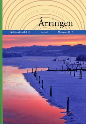 Foto av forsiden på Årringen 2019. Foto/Photo