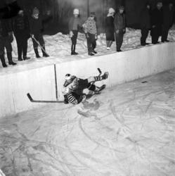 Ishockeymatch mellan Skönvik och Stockvik.