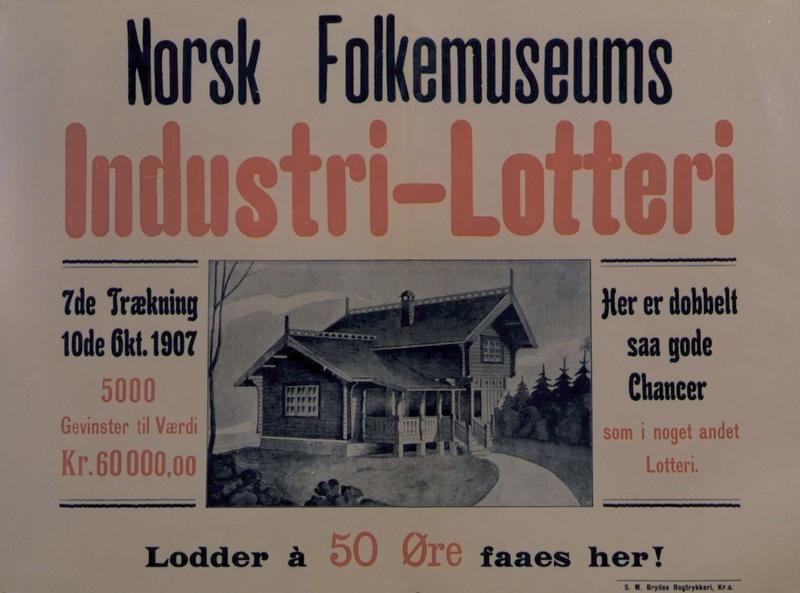 Lotteriplakat 1907