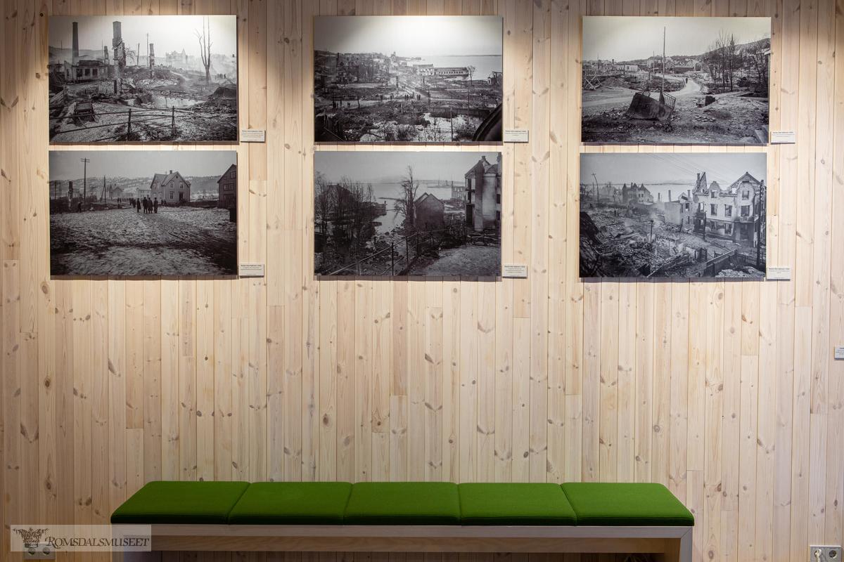 Kirkhorn utstillingen i Krona på Romsdalsmuseet.