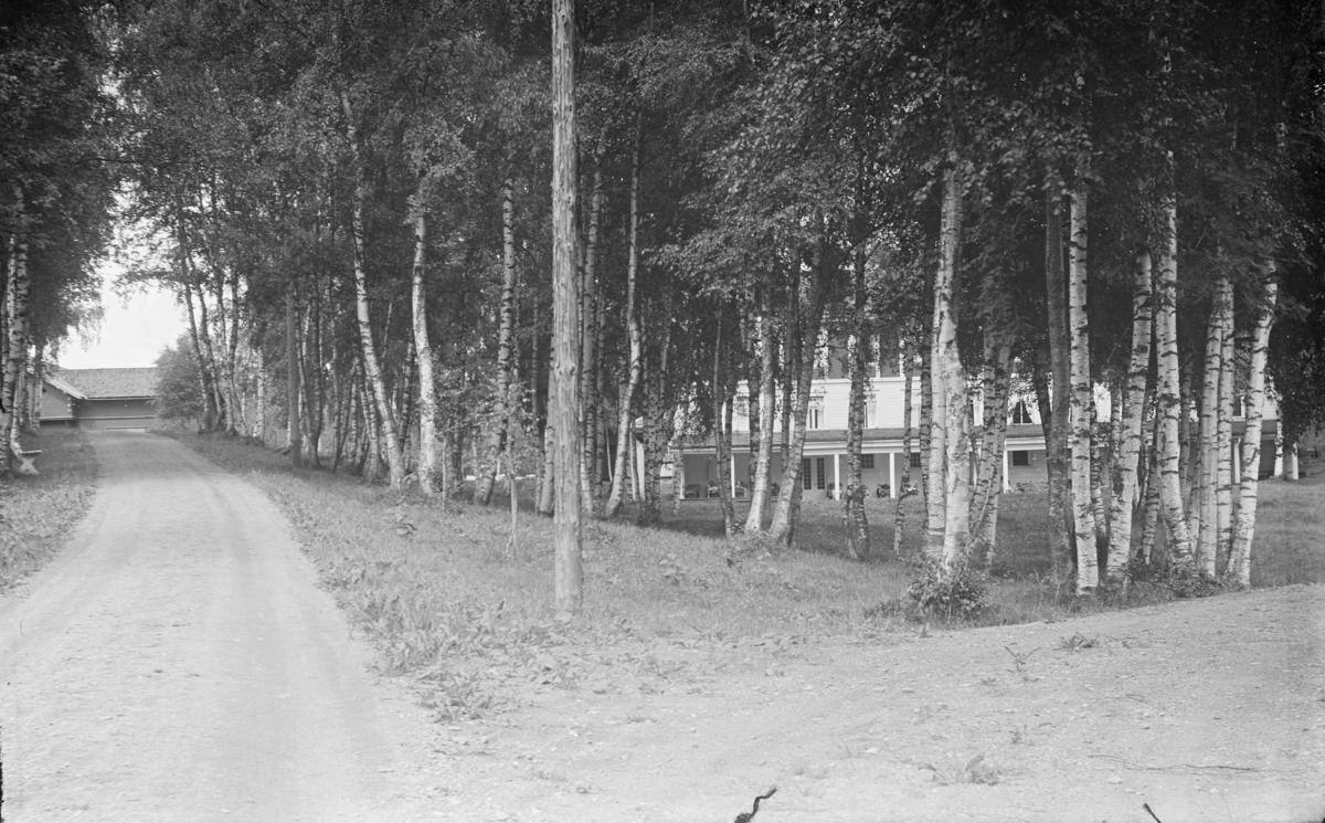 Østre Gausdal, Follebu. Innkjøringen til Kornhaug. Bjørkelund