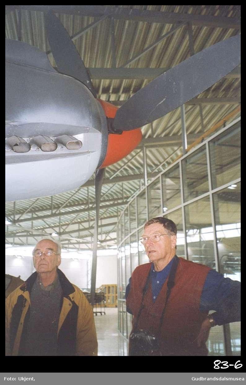 Forsvarets flymuseum på Gardermoen.