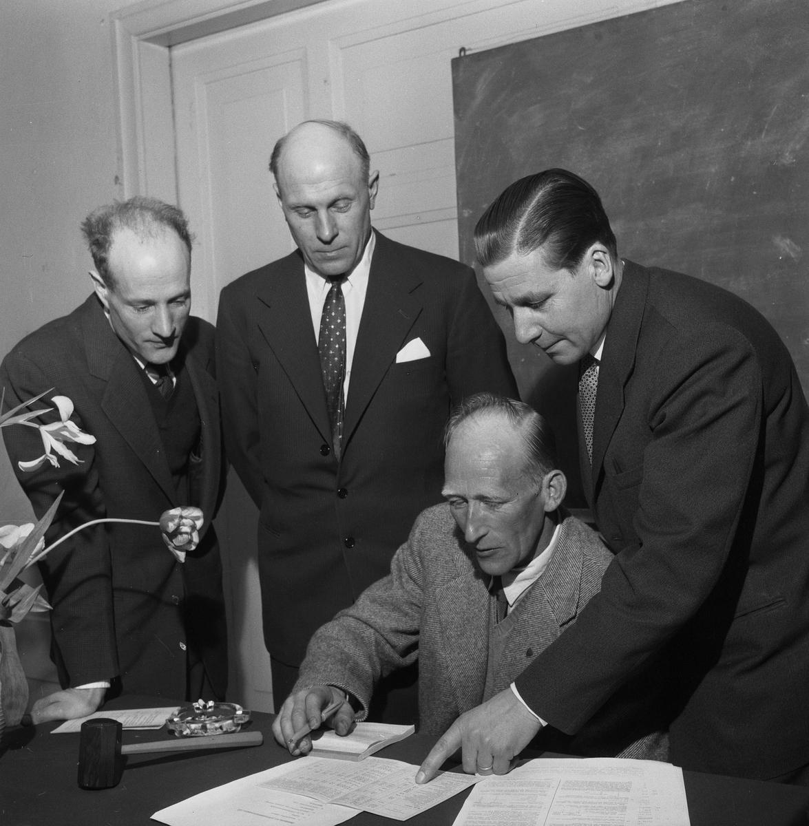 Hyresgästföreningen. 6 april 1959.