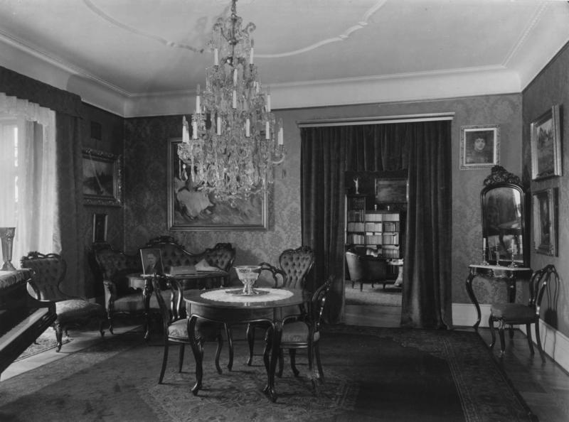 Alf og Christine Bjerckes hjem