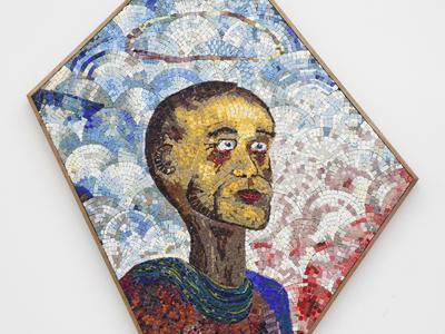 (Detail) Prophète malade 2015 Glass mosaic  130x75x40cm 2015 (Foto/Photo)