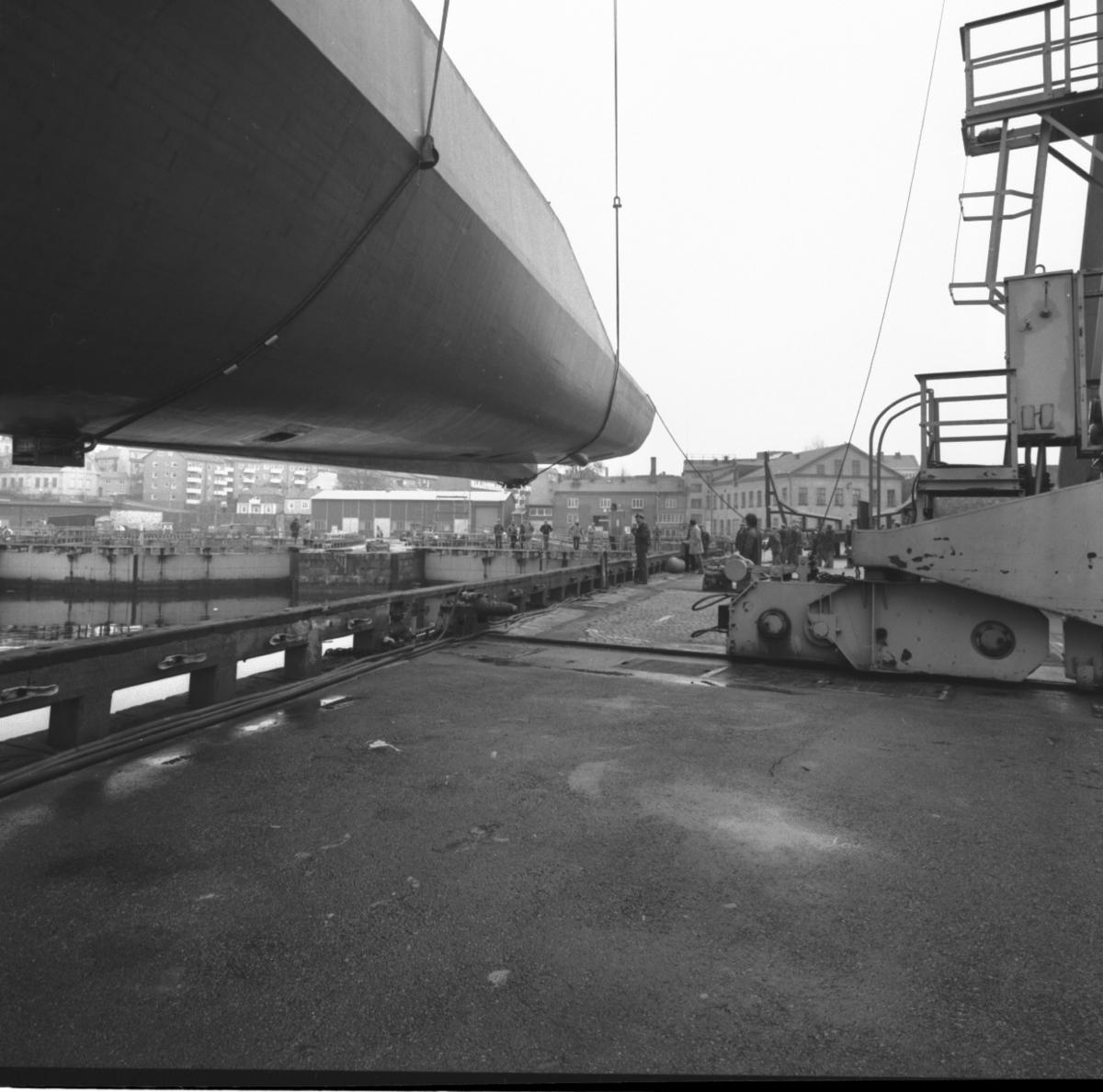 Standard Flex Lyft, transport och sjösättning av Standard Flex\\\\anm. neg ingår i en serie om 86st där 5 scannats, detta är neg nr V 103411 /gp