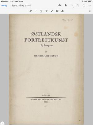 Særutstilling 15. 1925. Foto/Photo