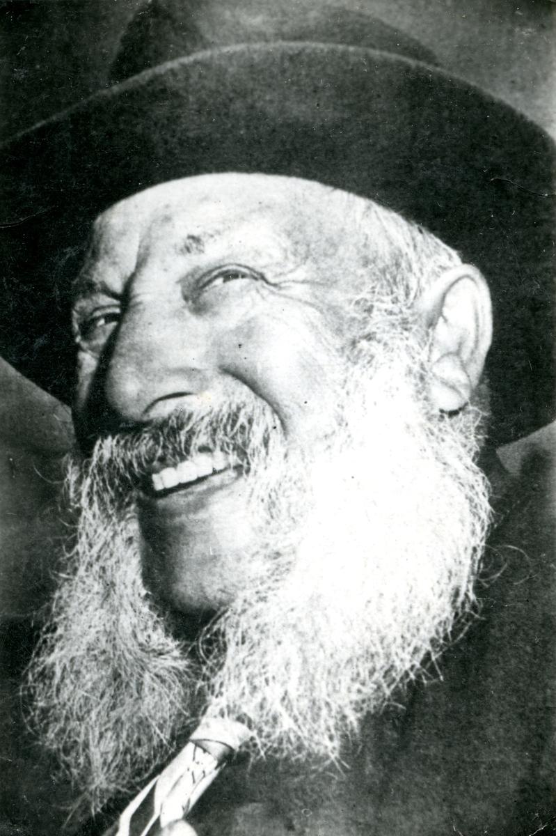 Porträtt av en äldre man. Bildens ursprung är okänt.