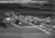 Flygfoto över Askeryd i Aneby kommun. Jönköpings län. 1309 / 1966