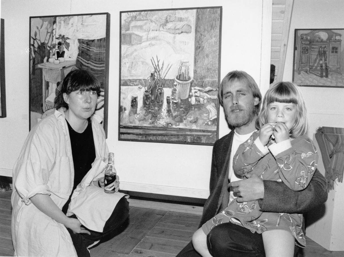 Nordvesten 1993. Kjell Akeren var en av kunstnerne som hadde utstilling