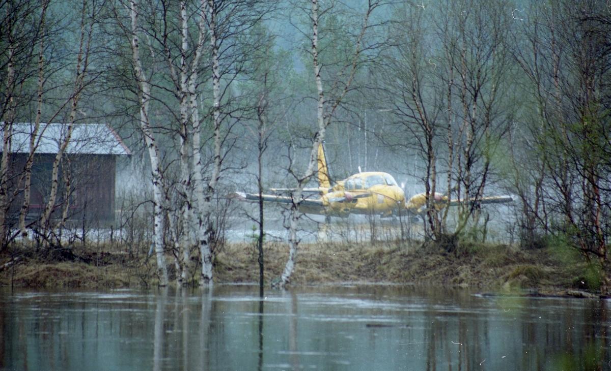 Flom-bilder Tynset flyplass