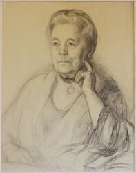 Selma Lagerlöf [Teckning]
