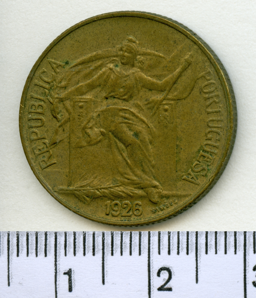 50 Centavos 1926 Portugal.
