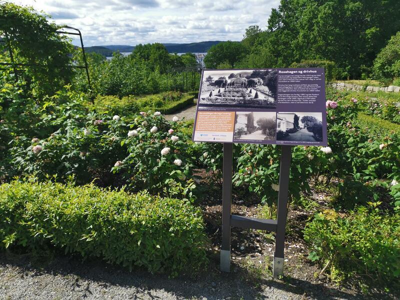 En hage i endring utstilling