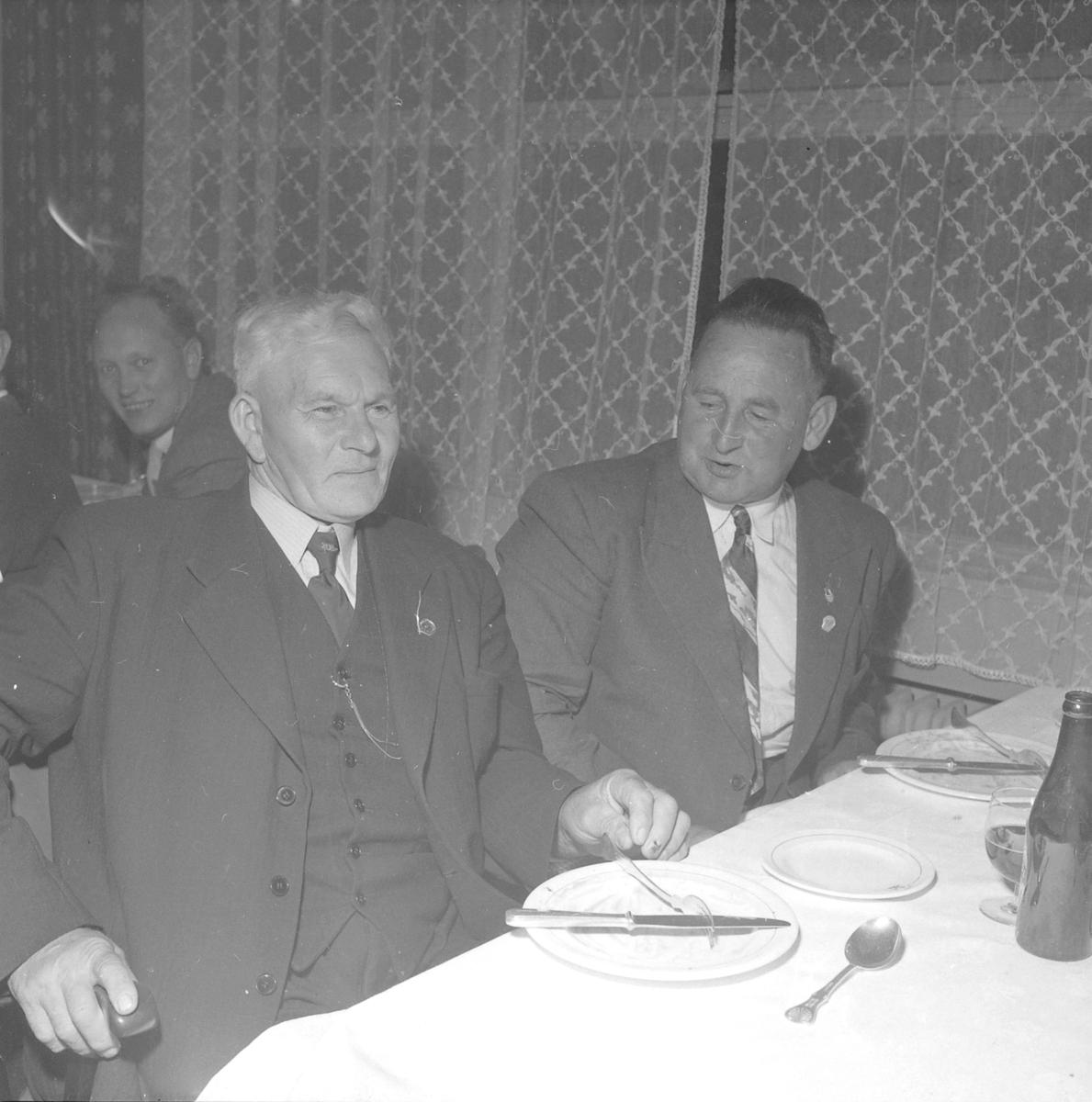 Norges Fiskarlag, Fest på Astoria i forbindelse med landsmøtet 1953