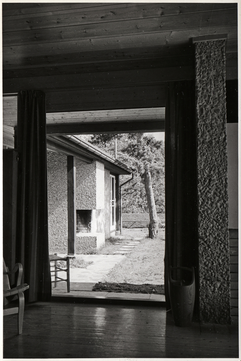 Arkitekt Erling Viksjøs eget sommerhus [Fotografi]