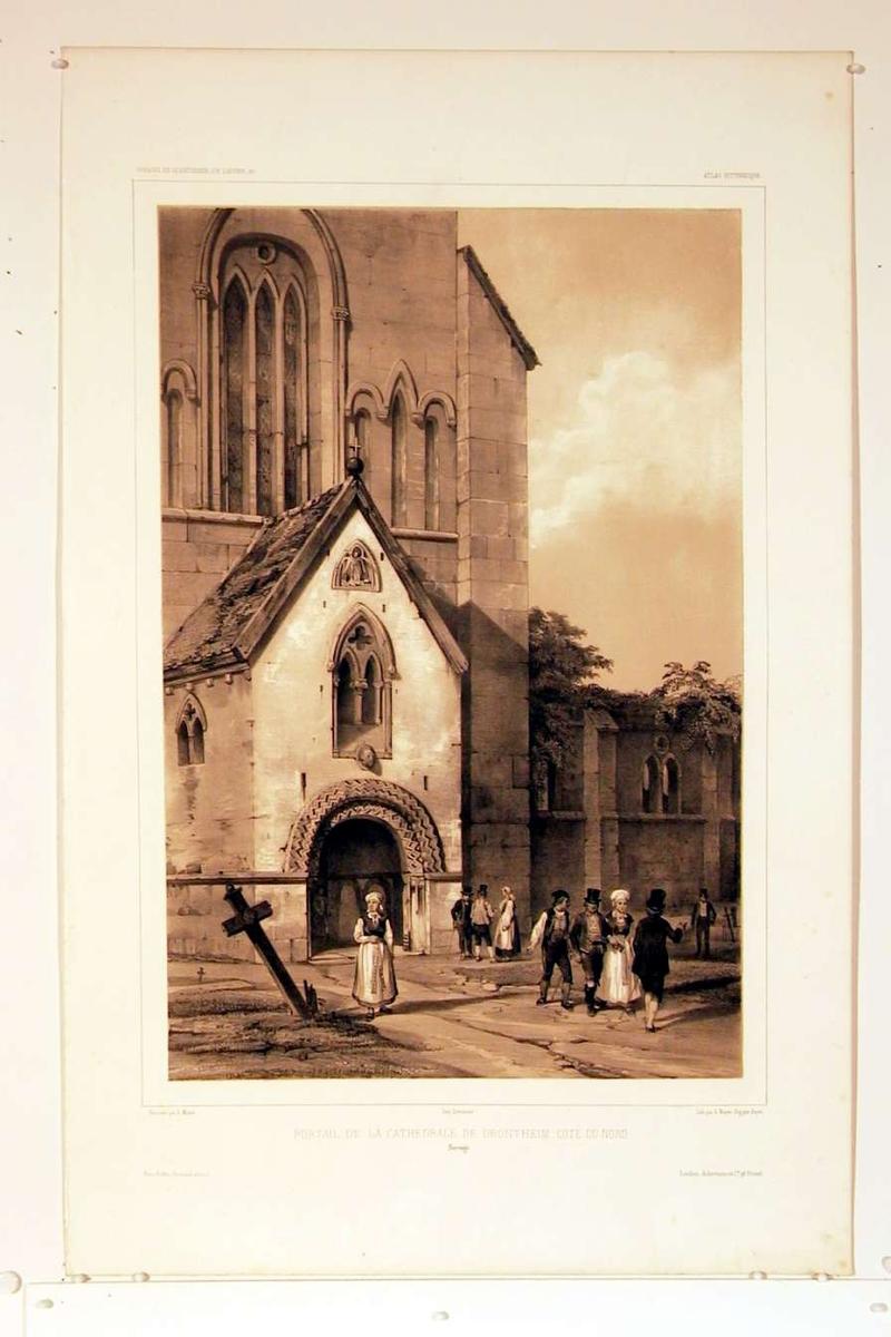 Domkirken i Trondheim, portalen mot nord.