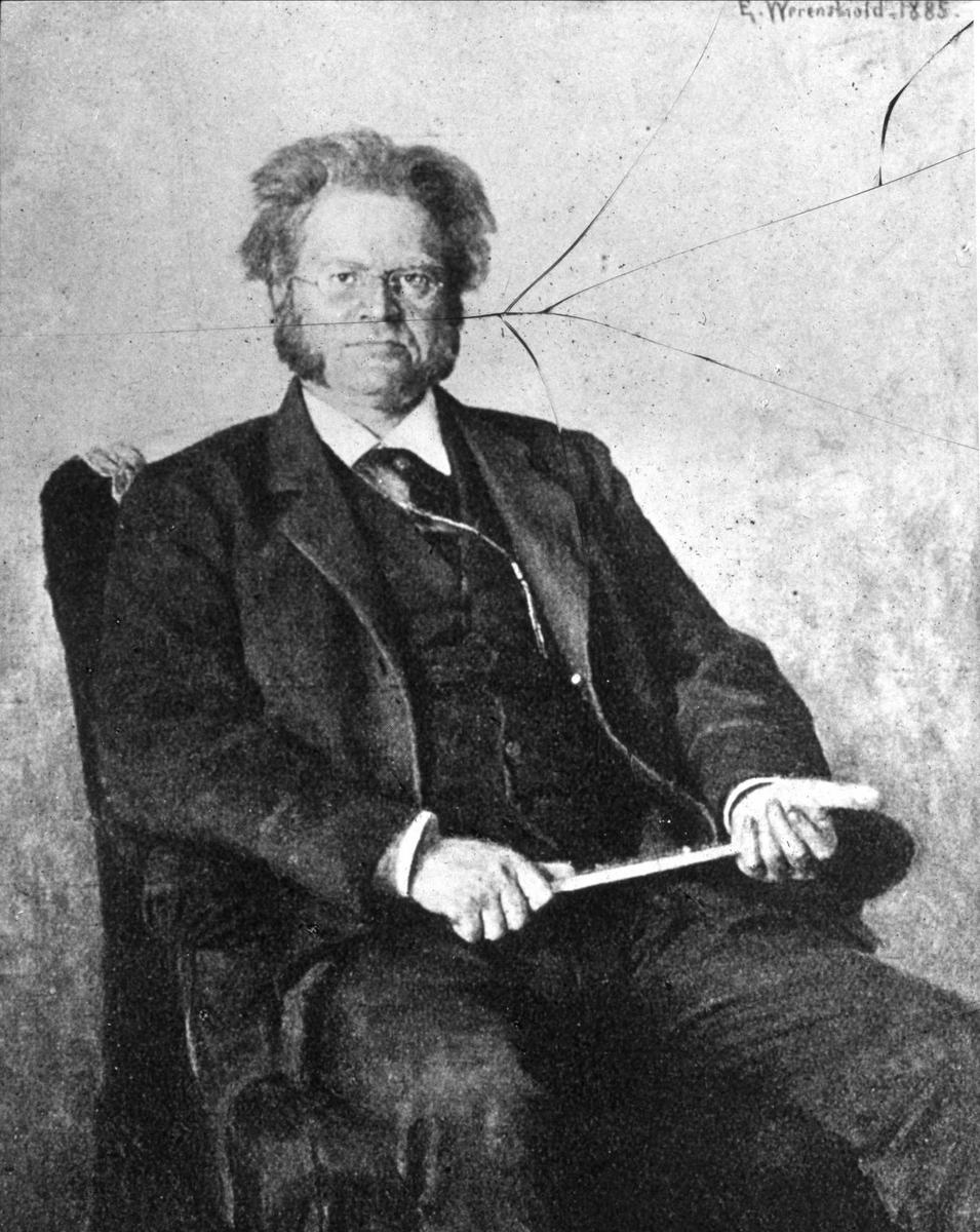 Bjørnson, Werenskiold, maleri,