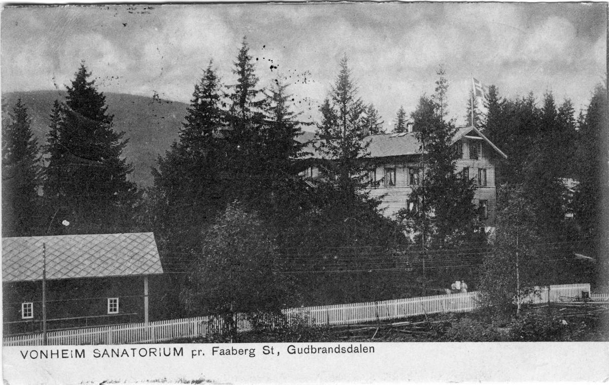Vonheim, postkort,