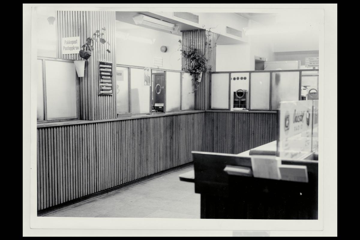 interiør, postkontor, 6500 Kristiansund N, publikumshall