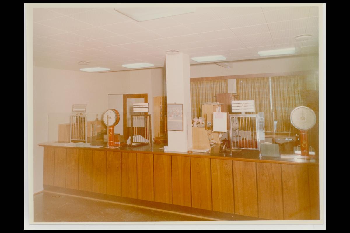 interiør, postkontor, 2150 Årnes, ekspedisjon