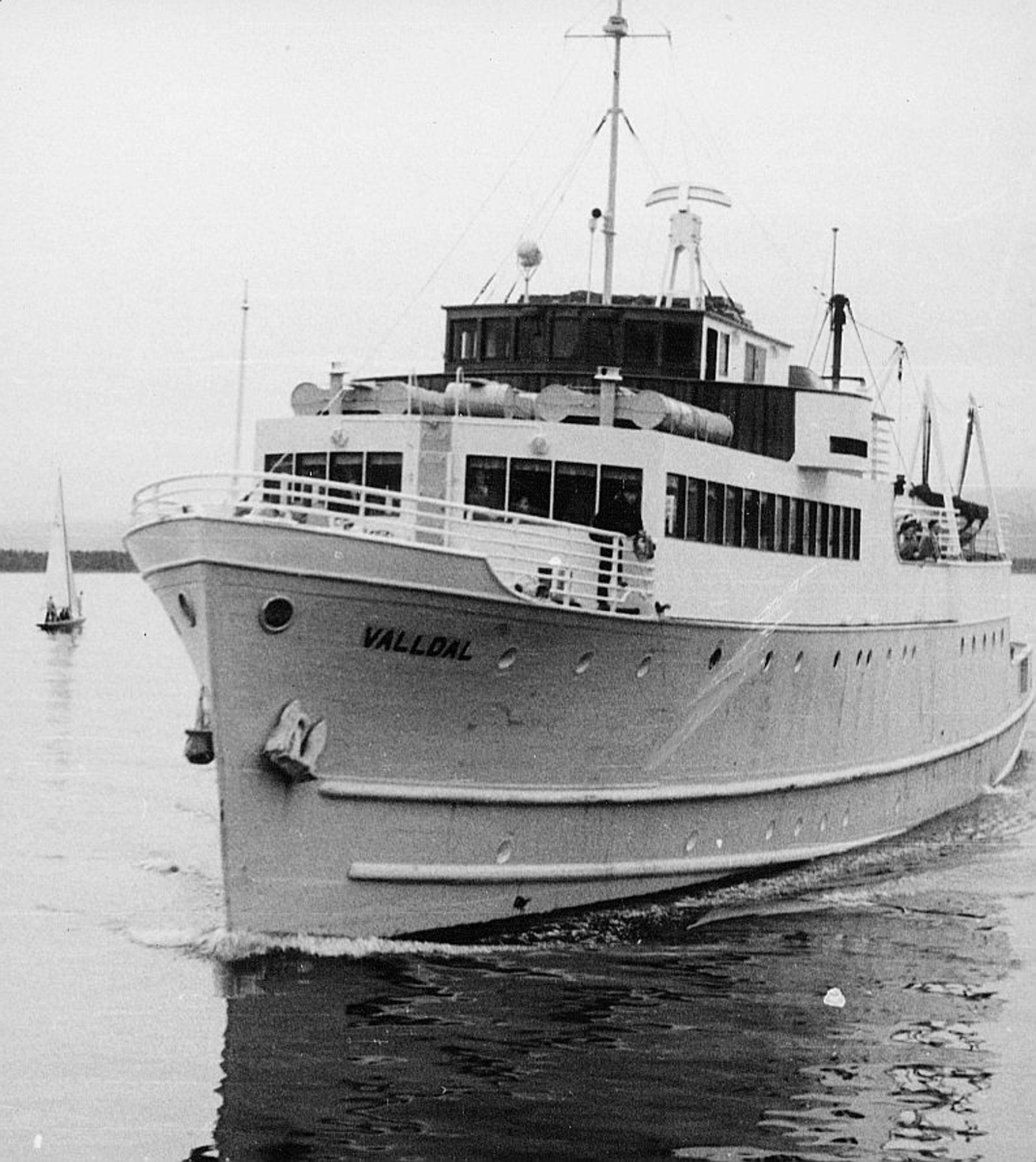 transport båt, eksteriør, Valldal