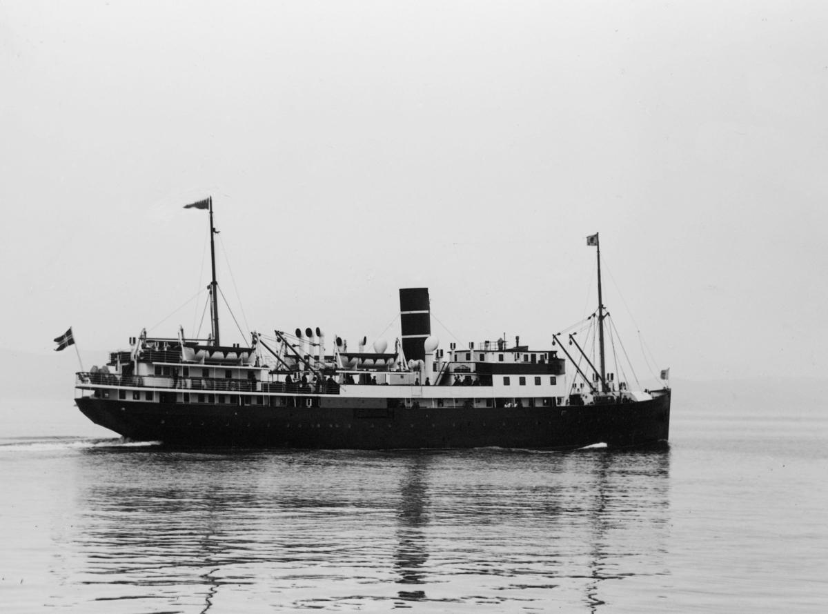 transport båt, eksteriør, Prinsesse Ragnhild