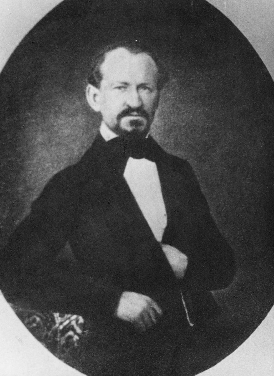 portrett, bestyrer, Peder Christian Gulbrandsen