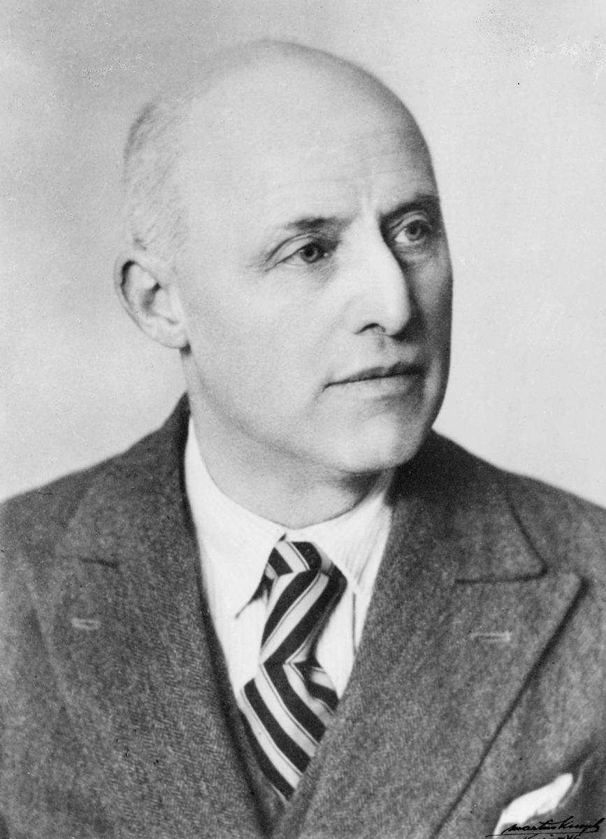 postmester, Øgaard Anthon, portrett