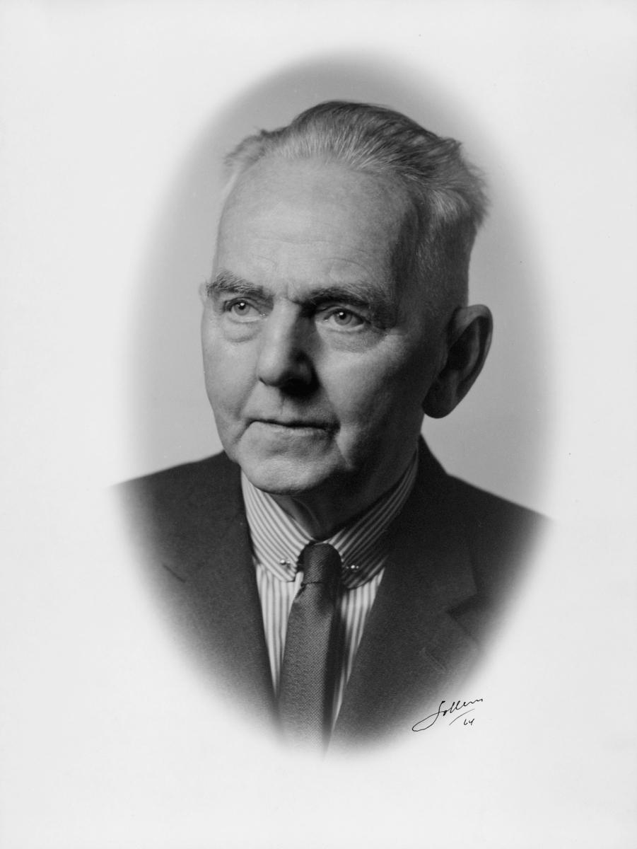postmester, Bakken Haakon, portrett