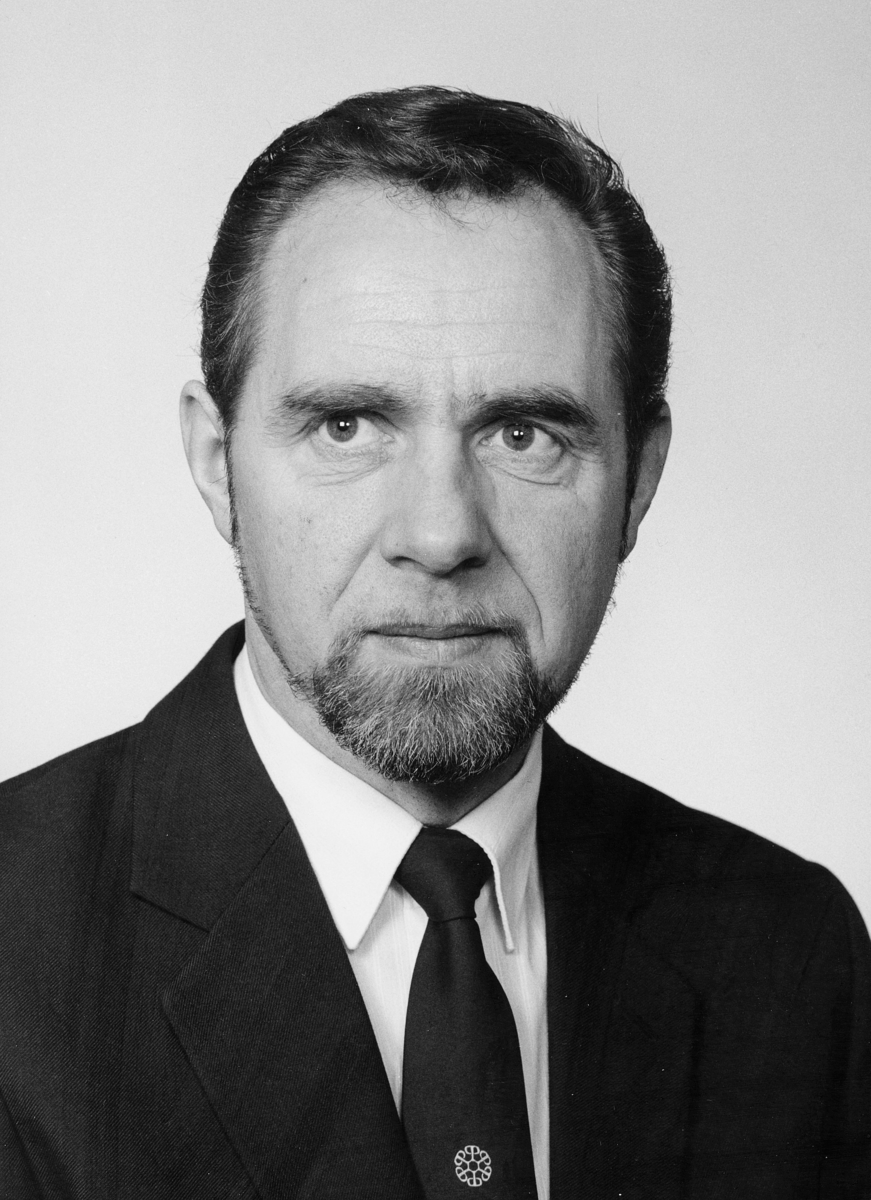 postmester, Ekroll Harald Kåre, portrett