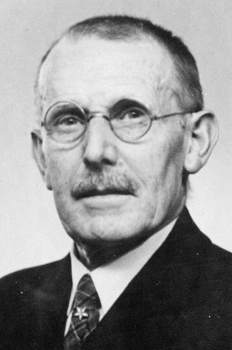 hovedkasserer, Hermansen Karl Fredrik, portrett
