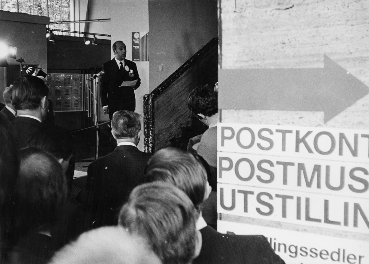 markedsseksjonen, Internordisk frimerkeutstilling, Kunstnernes Hus,  Posthornet 100 år, Postmuseets utstilling,