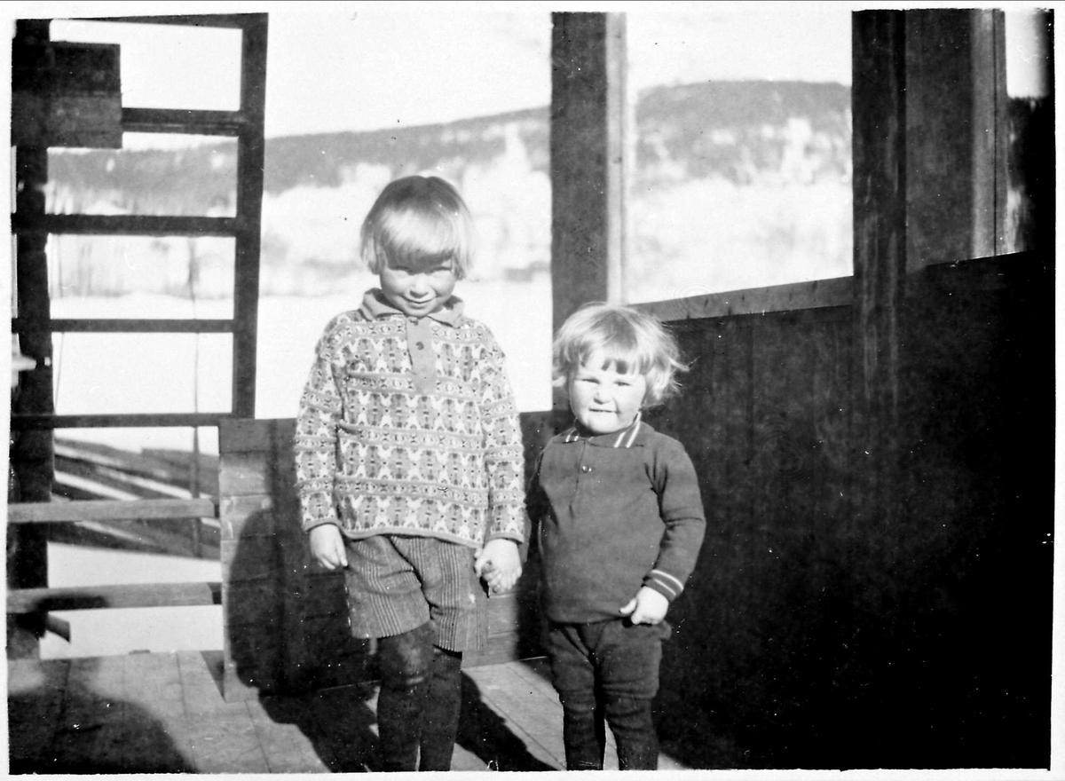 Barn, vinter