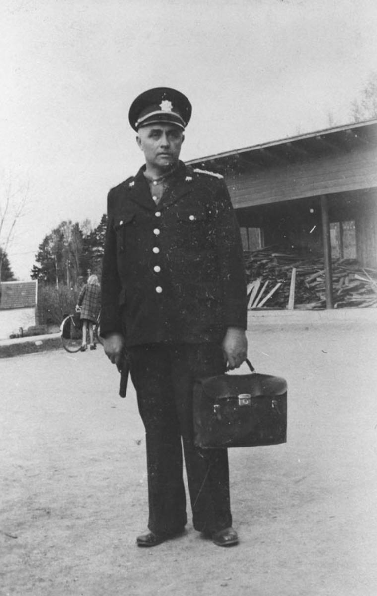 Odin Hansen i uniform