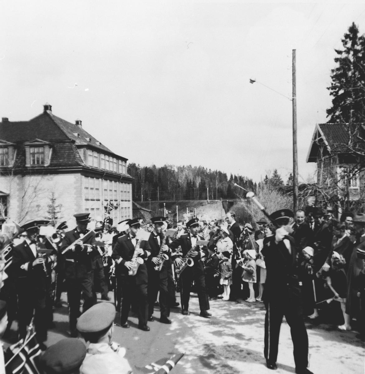 Myrvoll Hornmusikk, 17. mai 1955.